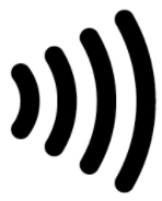 Image of contactless NFC symbol