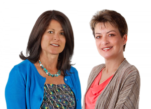 Photo of Jenn Lapierre and Olga Andrade, Mortgage Loan Officers